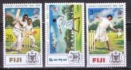 Fiji 1974 Centenary Of Cricket MNH** - Lot. 1009 - Fidji (1970-...)