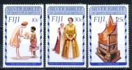 Fiji 1977 25th Anniv. Of Reign Of Elizabeth II MNH** - Lot. 1010 - Fiji (1970-...)