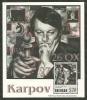 Grenada      Anatoly Karpov,Chess Champion   Souvenir Sheet   SC# 3385 MNH** SCV$15.00 - Timbres