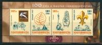 HUNGARY-2012. Souvenir Sheet - 100th Anniversary Of The Hungarian Scout Association MNH!! - Non Classés