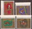 CHINA - 1971 Taiwan Animals. Scott 1716-9. MNH ** - Nuovi