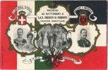 Roma 1904 :  Ricordo Del Battesimo  Umberto Di Piemonte   ................;;  (  Carte  Reliëf   ) - Italia