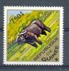 MR612 FAUNA ZOOGDIEREN BUFFEL CAFFER BUFFLE MAMMALS GUINÉE 1975 PF/MNH  VANAF1EURO - Gibier