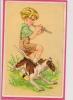 12 / 7 / 121  - ENFANT ET PETIT CHIEN - Adolf 'Jodolfi'