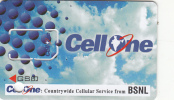 INDIA - Cell One By BSNL GSM, Sample - India