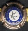Capsule Champagne Pommery Brut Royal Bleu Et Or - Capsules & Plaques De Muselet