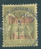 French Colonies Port Lagos 4p/1fr No 6 Used S0677