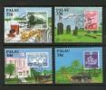 PALAU 1987 RELATION AVEC LE JAPON   YVERT N°188/91 NEUF MNH** - Palau