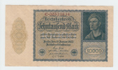 Germany 10000 Mark 1922 (180x100) VF++ P 72 - [ 3] 1918-1933 : République De Weimar