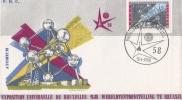 World Exhibition - EXPO 58 - Brussels Belgium - Atomium - 1958 – Bruxelles (Belgique)