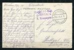 Germany 1915 Field Postcard Kais Deutche Fieldpostation  26.8.15 Warsaw - Duitsland