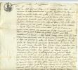 Cordes, D´albigeois 1812, Testament  De Marie-thérèse Lemosy, Lemozy,donation à Une Dizaine De Personnes - Documents Historiques
