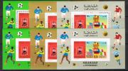 Sharjah  1970 WC.Soccer.Football.MNH. Full Set. - Copa Mundial