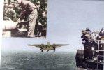 (300) Avion Militaire - Military Warplane - Doolittle B-24 Bombers & Aircraft Carrier Hornet - Flugzeuge