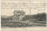 Le Thillot  Interieur De La Gare Edit Weick St Dié No 3092 Timbrée Le T. 1904 Parfait Etat - Le Thillot