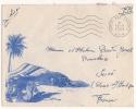 Lettre FM Par Avion Cachet Poste Aux Armées 1959 à Destination Sucé Loire Atlantique - Bolli Militari A Partire Dal 1940 (fuori Dal Periodo Di Guerra)