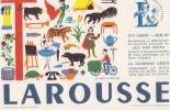 Buvard  Petit Larousse  Lettre T De L´Alphabet - Blotters