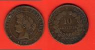 10 Centimes Cérès - 1879 A - France