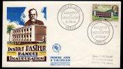 Institute Pasteur Fdc Centraficaine 1961 - Louis Pasteur