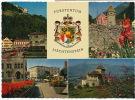 Vaduz Postplatz Mit Schloss Size 10 By 15 E. Thony Vaduz - Liechtenstein