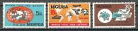 Nigeria 1974 ( UPU Cent. ) - Complete Set - MNH (**) - Nigeria (1961-...)