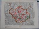 Carte   Forestière - Département De L´ AUBE  En 1910 -  Administration Des Eaux Et Forêts - Topographical Maps
