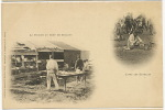 Cliché De Jumelle H. Bellieni A. Bergeret Cuisine  Camp De Chalons Lavez Les Gamelles - Nancy
