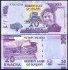 MALAWI 20 KWACHA 2012 P NEW DESIGN UNC - Malawi