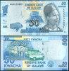 MALAWI 50 KWACHA 2012 P NEW DESIGN UNC - Malawi