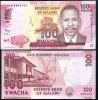 MALAWI 100 KWACHA 2012 P NEW DESIGN UNC - Malawi