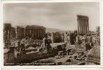 Baalbeck   Les Temples De Bacchus Et Jupiter  Photo Sport Rue Weygand Beyrouth No 89 - Lebanon