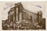 Baalbeck  Le Temple De Bacchus Vue Du Sud Edit Ibrahim Arra Liban  Ecrite De Chekka 1935 - Liban