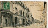 CPA 93 PIERREFITTE LA RUE DE PARIS 1913 - Pierrefitte Sur Seine