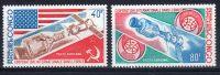 1973, Coopération International Dans L´espace - CONGO, Y&T PA No. 174 - 175, Neuf **, Lot 41059