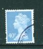 GREAT BRITAIN  -  1993 To 2008  Elizabeth II  Machin  40p  FU  (stock Scan) - Machins