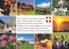 SAVOIE -  Multi Vues 10 Vues, Dont Une Vue Avec Un Troupeaux De Vaches, Cpm, Neuve, - Francia