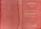 MECANIQUE PAR J. IZART INGENIEUR CONSEIL AGENDA DUNOD 1920 A L'USAGE DES INGENIEURS, CONSTRUCTEURS-MECANICIENS - Books, Magazines, Comics