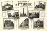 Etterbeek - Souvenir D'... - Carte Multivues -1954 ( Voir Verso ) - Etterbeek