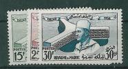 1958-Marokko-Mi 435-437 (**) - Maroc (1956-...)