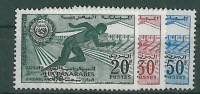 1961-Marokko-Mi 470-472 (**) - Maroc (1956-...)