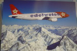 EDELWEISS AIR   A 320 214   HB IHX    AIRLINE ISSUE - 1946-....: Moderne