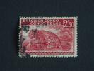 Belgisch Congo Belge 1942 Luipaard Léopard Yv 241 O - 1923-44: Oblitérés