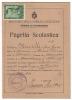 PAGELLA SCOLASTICA ANNO 1946 - Diplome Und Schulzeugnisse