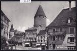 Bulle : Place Des Alpes - Voitures Début Années 60 (9497) - FR Fribourg