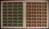 China 1997-6 50th Anni Of Inner Mongolia Stamps Sheets Costume Dance - 1949 - ... People's Republic