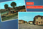 Carte Postale Italie Monticelli  Saluti Très Beau Plan - Italien