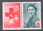 Japan 554-5  *    RED  CROSS - Unused Stamps
