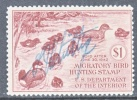 U.S. RW 8  (o) - Duck Stamps