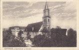INFLA Postkarte Mit DR 99 EF, Poststempel: Göppingen 10.AUG 1917, AK: Göppingen, Stadtkirche Und Schloss - Deutschland