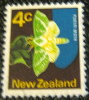 New Zealand 1970 Puriri Moth 4c - Used - New Zealand